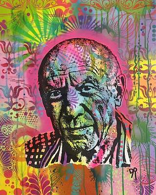 Painting - Picasso by Dean Russo