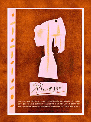 Photograph - Picasso Exhibition Poster 6 by Andrew Fare