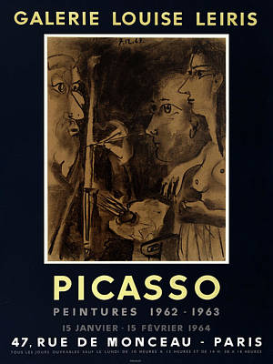 Photograph - Picasso Exhibition Poster 9 by Andrew Fare