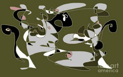 Digital Art - Picasso Tribute by Nancy Kane Chapman