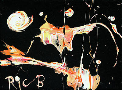 Painting - Picassos In Space by Ric Bascobert