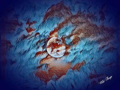 Photograph - Picasso's Moon by Wild Thing