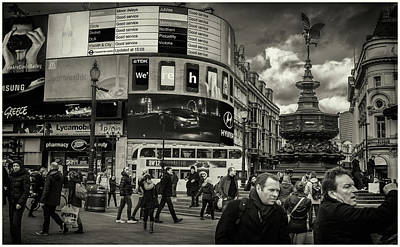 Photograph - Piccadilly  by Stewart Marsden