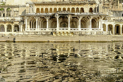 Photograph - Pichola Reflection 01 by Werner Padarin