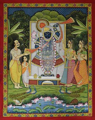 Pichwai 164 Original by Pichwai Pichvai Pichhavai Pitchwai