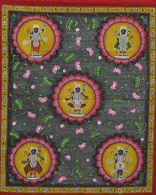 Gopala Painting - Pichwai 6 by Unknown