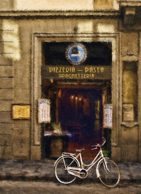 Pick-up Or Delivery 2 Art Print by Mick Burkey