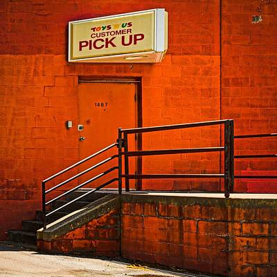Photograph - Pick Up by Rodney Lee Williams