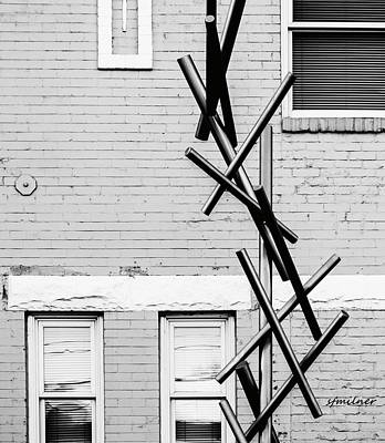 Photograph - Pick-up Sticks by Steven Milner