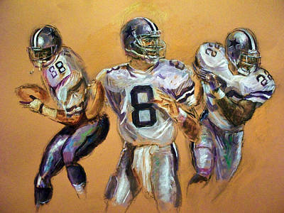 Troy Smith Mixed Media - Pick Your Poison...the Glory Days by Tommy  Winn