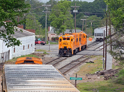Photograph - Pickens Railroad 04/25/2014 3 by Joseph C Hinson Photography