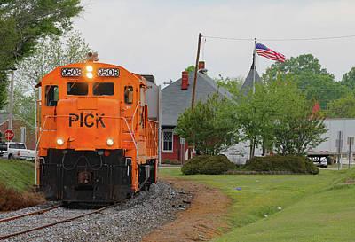 Photograph - Pickens U18b #9508 At Belton by Joseph C Hinson Photography