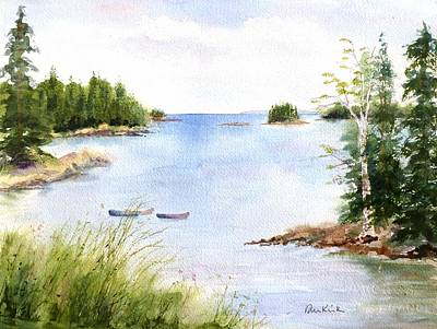 Painting - Pickering Cove by Diane Kirk