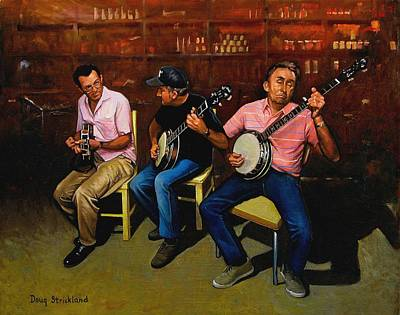 Good Times Painting - Pickers by Doug Strickland