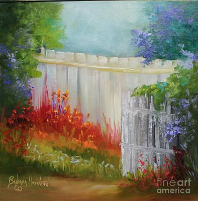 Painting - Picket Fences by Barbara Haviland