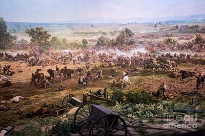 Photograph - Pickett's Charge Up Cemetery Ridge by David Bearden