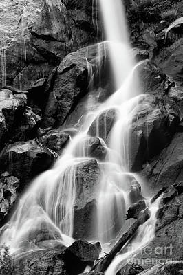 Photograph - Hickory Canyon Waterfall by Peggy Franz
