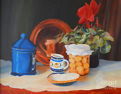 Painting - Pickled Onions by Beatrice Cloake