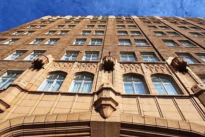 Photograph - Pickwick Hotel - San Francisco - Looking Up by Matt Harang