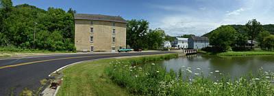 Photograph - Pickwick Mill Panorama by Janice Adomeit