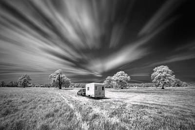 Infrared Photograph - Picnic by Piotr Krol (bax)
