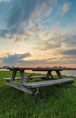 Chesapeake Bay Photograph - Picnic Time by Kristopher Schoenleber