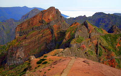 Photograph - Pico Do Arieiro by Laurel Talabere