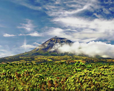 Photograph - Pico Mountain Majestic View by Anthony Dezenzio