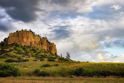 Photograph - Pictograph Caves Rainbow by Jeff Handlin