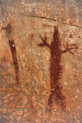 Photograph - Pictographs2 Tnd by Theo O'Connor