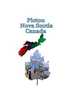 Province Mixed Media - Pictou Nova Scotia Canada by Kathleen Sartoris