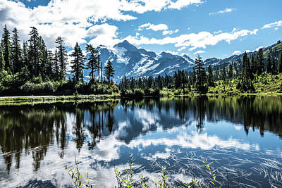 Photograph - Picture Lake by Tom Cochran