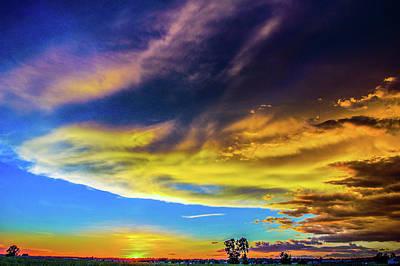Photograph - Picture Perfect Nebraska Thunderset 009 by NebraskaSC