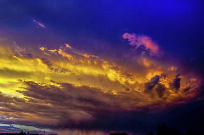Photograph - Picture Perfect Nebraska Thunderset 010 by NebraskaSC