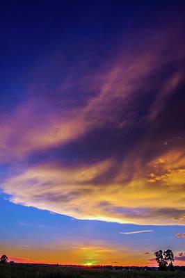 Photograph - Picture Perfect Nebraska Thunderset 012 by NebraskaSC