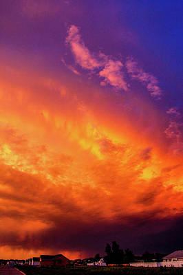 Photograph - Picture Perfect Nebraska Thunderset 015 by NebraskaSC