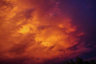 Photograph - Picture Perfect Nebraska Thunderset 016 by NebraskaSC