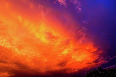 Photograph - Picture Perfect Nebraska Thunderset 017 by NebraskaSC
