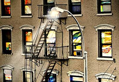 Photograph - Harlem Windows by Diana Angstadt