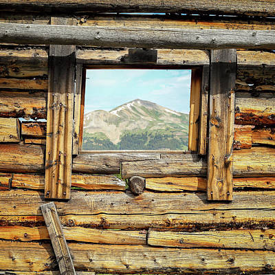 Gore Range Photograph - Picture Window #1 by Eric Glaser