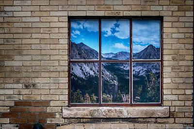 Digital Art - Picture Window by John Haldane