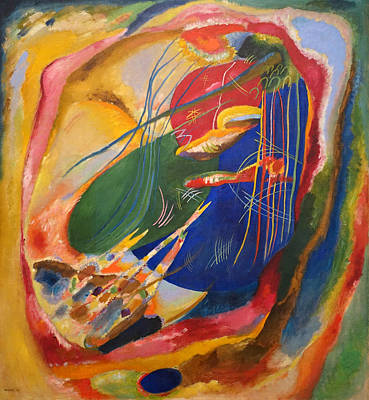 Painting - Picture With Three Spots  by Wassily Kandinsky