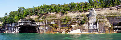 Riverstone Gallery Photograph - Pictured Rocks 1a by Gregory Steele