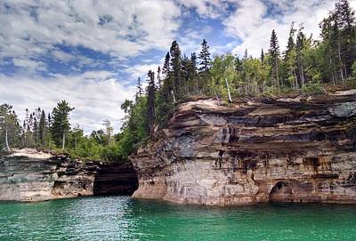 Photograph - Pictured Rocks by Alan Casadei
