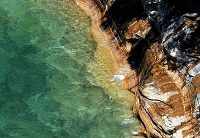 Photograph - Pictured Rocks by Kenneth Campbell
