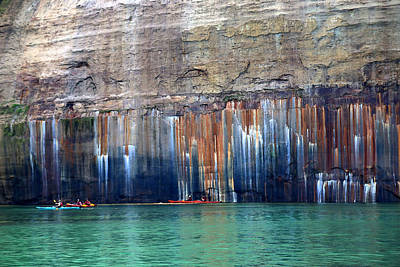 Photograph - Pictured Rocks National Lakeshore 4 by Mary Bedy