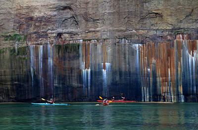 Photograph - Pictured Rocks National Lakeshore 5 by Mary Bedy