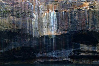 Photograph - Pictured Rocks National Lakeshore 6 by Mary Bedy