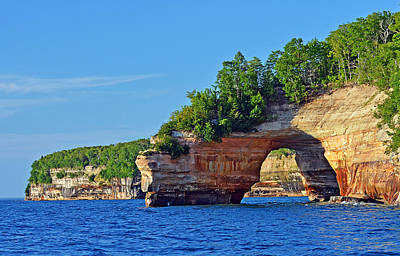 Photograph - Pictured Rocks by Rodney Campbell