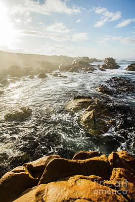 Lookout Photograph - Picturesque Australian Beach Landscape by Jorgo Photography - Wall Art Gallery